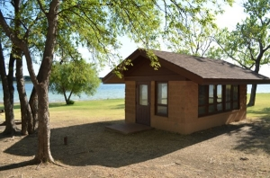 Hidden Cove Cabin Shelter Campgrounds