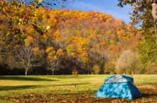 autumn fall camping fresco the colony dallas